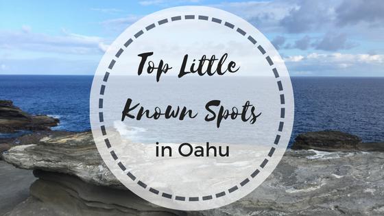 Top Little Known Spots in Oahu